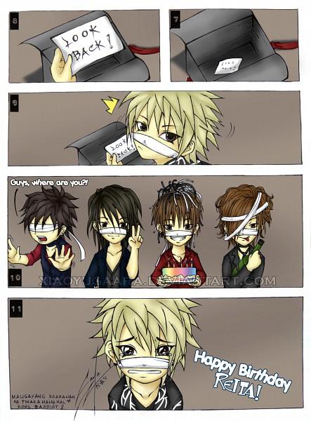 Tags: Anime, Ruki (The GazettE), Kai (The GazettE), Aoi (The GazettE), Reita (The GazettE), Uruha (The GazettE), The GazettE