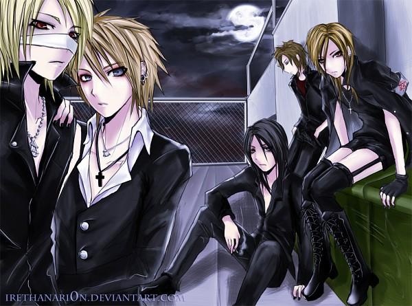 Tags: Anime, RainNoir, Reita (The GazettE), Uruha (The GazettE), Ruki (The GazettE), Kai (The GazettE), Aoi (The GazettE), deviantART, The GazettE