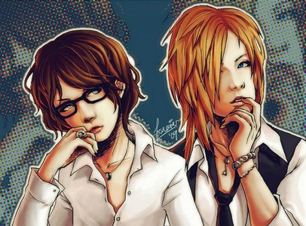 Tags: Anime, Ruki (The GazettE), Uruha (The GazettE), Artist Request, The GazettE