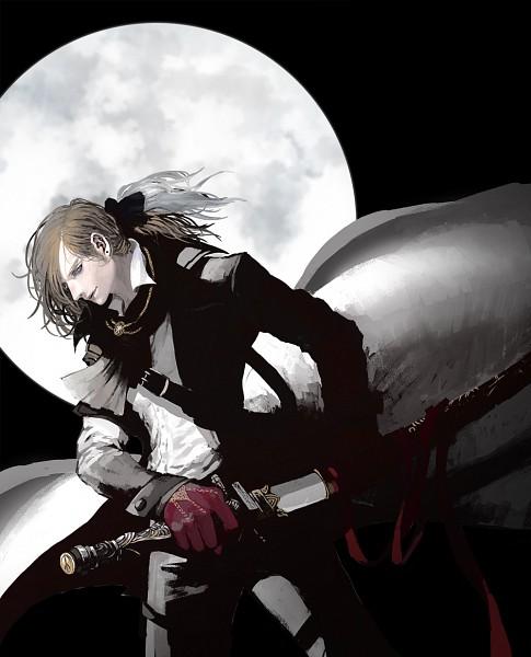 Tags: Anime, Pixiv Id 2730052, Bloodborne, The Hunter (Bloodborne), Fanart, Fanart From Pixiv, Pixiv