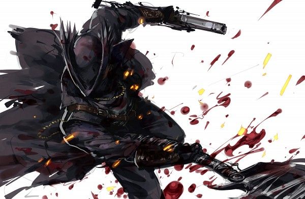 Tags: Anime, Pixiv Id 4489330, Bloodborne, The Hunter (Bloodborne), Fanart From Pixiv, Pixiv, Fanart
