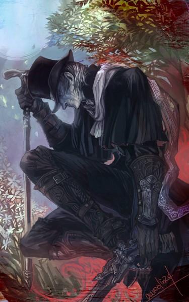 Tags: Anime, Pixiv Id 4179269, Bloodborne, The Hunter (Bloodborne), Fanart From Pixiv, Pixiv, Fanart