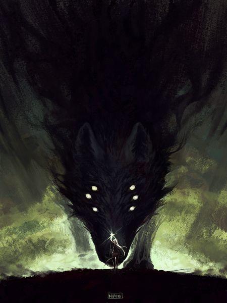 Tags: Anime, Nipuni, Dragon Age: Inquisition, The Inquisitor, Beast, Fanart, Tumblr
