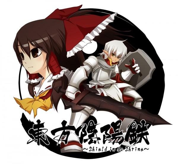 Tags: Anime, Final Fantasy XI, Touhou, Elvaan, Buront, Hakurei Reimu, The Iron of Yin and Yang