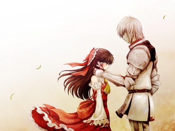 Tags: Anime, Meg Maru2, Final Fantasy XI, Touhou, Hakurei Reimu, Elvaan, Buront, The Iron of Yin and Yang