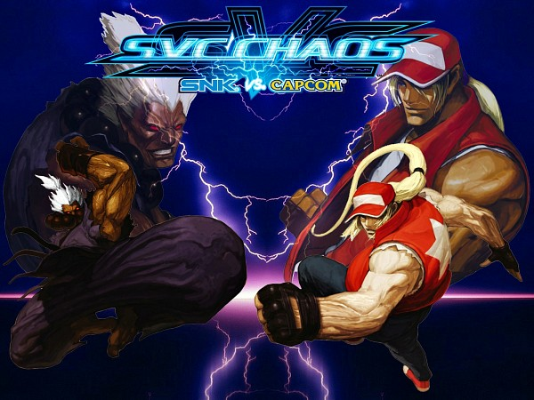 Tags: Anime, Capcom, SNK, Fatal Fury, The King of Fighters, Street Fighter, Gouki, Terry Bogard, Official Wallpaper, Wallpaper, Official Art