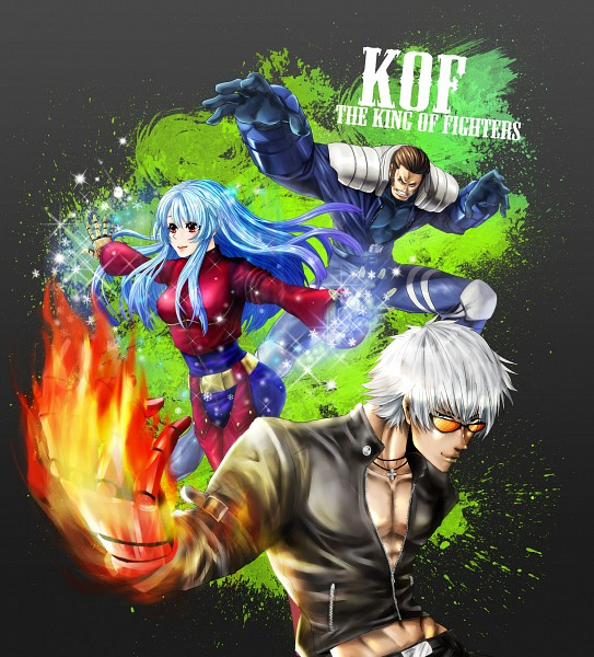 Tags: Anime, The King of Fighters, Maxima (King of Fighters), K', Kula Diamond