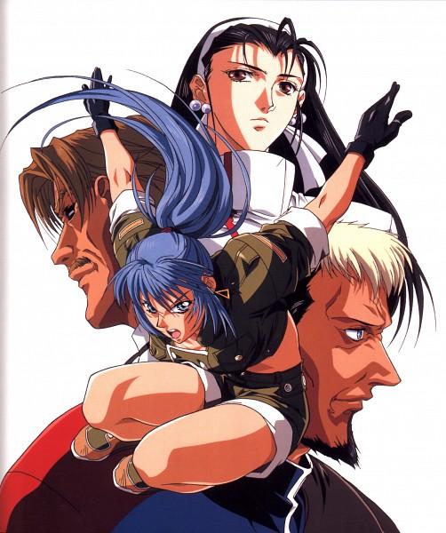 Tags: Anime, SNK Playmore, Metal Slug, The King of Fighters, Chizuru Kagura (King of Fighters), Goenitz (King of Fighters), Leona Heidern, Rugal Bernstein