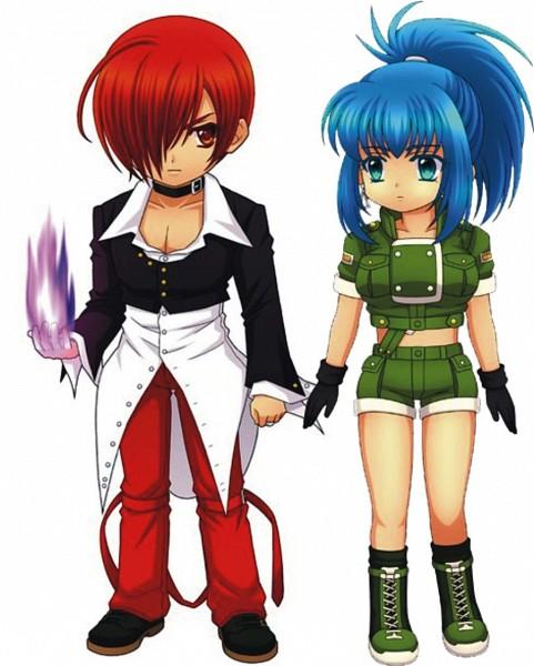 Tags: Anime, SNK Playmore, Metal Slug, The King of Fighters, Yagami Iori, Leona Heidern