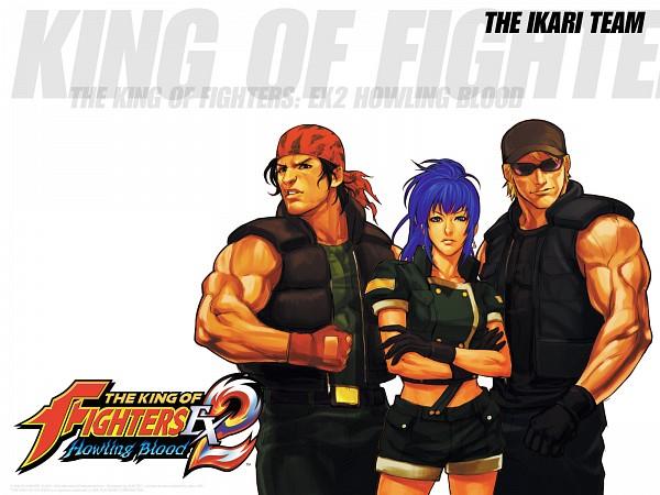 Tags: Anime, Hiroaki (Artist), SNK Playmore, Metal Slug, The King of Fighters, Leona Heidern, Ralf Jones, Clark Still, Ikari Warriors