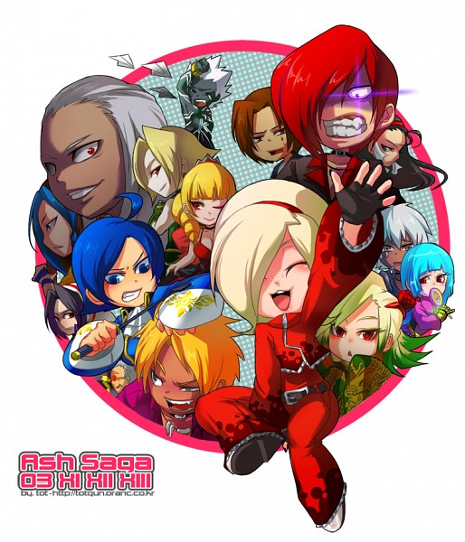 Tags: Anime, Captain Tot, SNK Playmore, The King of Fighters, Yagami Iori, Chizuru Kagura (King of Fighters), Magaki, Elisabeth Blanctorche, Mukai(Kof), Kula Diamond, Oswald (King of Fighters), K', Magaki(Kof)