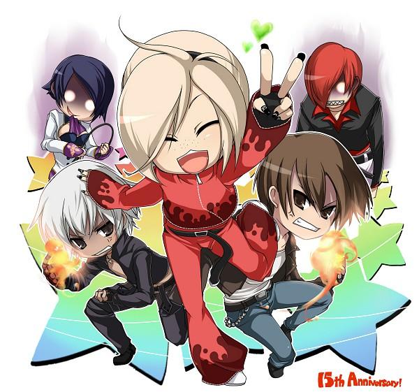 Tags: Anime, Captain Tot, The King of Fighters, Yagami Iori, K', Ash Crimson, Kusanagi Kyou