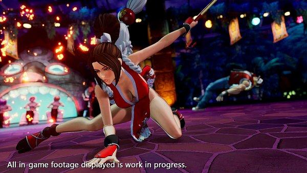 Tags: Anime, SNK, The King of Fighters, Fatal Fury, Terry Bogard, Shiranui Mai, Wallpaper, Twitter, 3D, Official Art, Screenshot