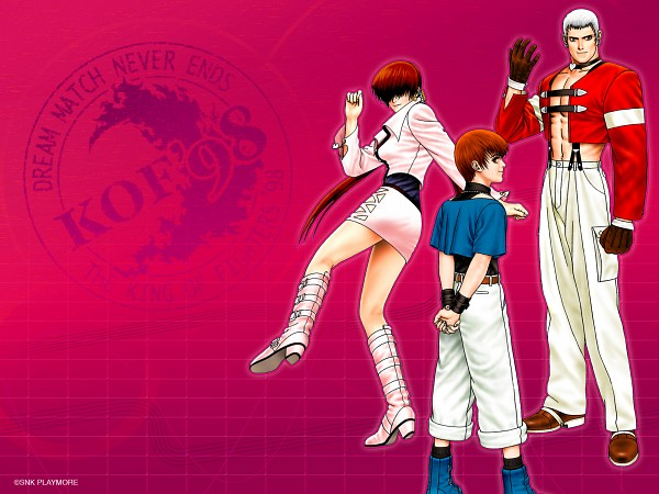 Tags: Anime, SNK Playmore, The King of Fighters, Chris (The King of Fighters), Shermie, Yashiro Nanakase, Wallpaper