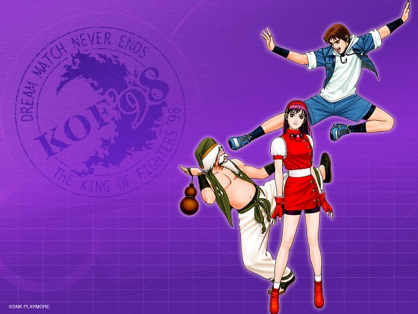 Tags: Anime, SNK Playmore, The King of Fighters, Chin Gentsai, Sie Kensou, Athena (King of Fighters), Psycho Soldier, Wallpaper