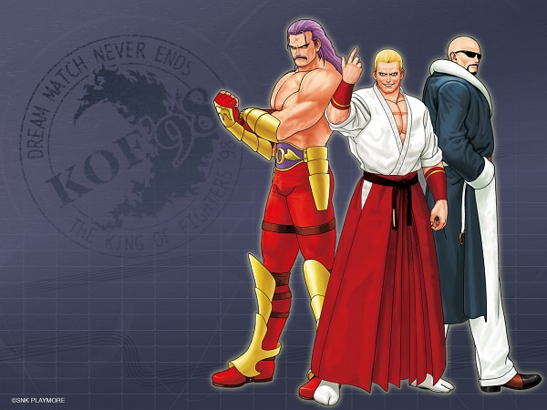Tags: Anime, SNK Playmore, The King of Fighters, Art of Fighting, Fatal Fury, Wolfgang Krauser, Geese Howard, Mr. Big, Wallpaper