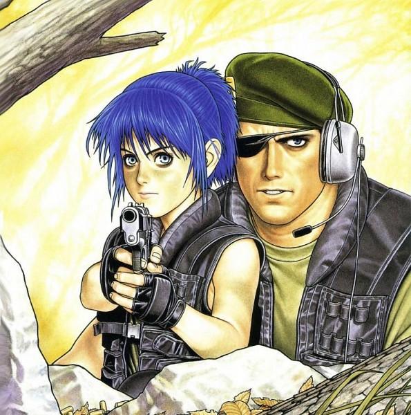 Tags: Anime, Shinkiro, SNK Playmore, The King of Fighters, Metal Slug, Heidern, Leona Heidern, Official Art