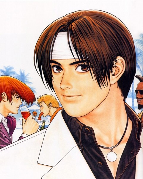 Tags: Anime, Shinkiro, SNK Playmore, Art of Fighting, The King of Fighters, Heavy D!, Sakazaki Ryo, Yagami Iori, Kusanagi Kyou