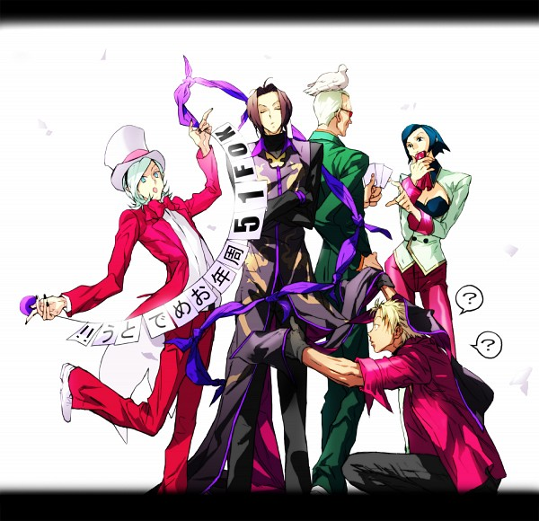 Tags: Anime, Luckygirl21, SNK Playmore, The King of Fighters, Shen Woo, Duo Lon, Elisabeth Blanctorche, Ash Crimson, Oswald (King of Fighters), Pixiv, Fanart
