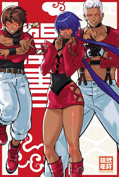 Tags: Anime, SNK, The King of Fighters, Yashiro Nanakase, Chris (The King of Fighters), Shermie