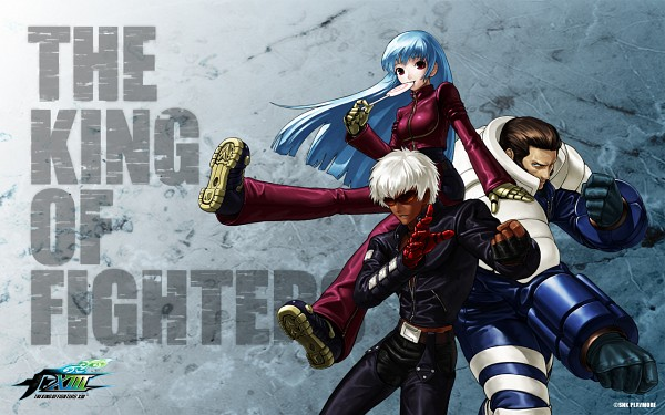 Tags: Anime, SNK Playmore, The King of Fighters, Maxima (King of Fighters), K', Kula Diamond, Wallpaper