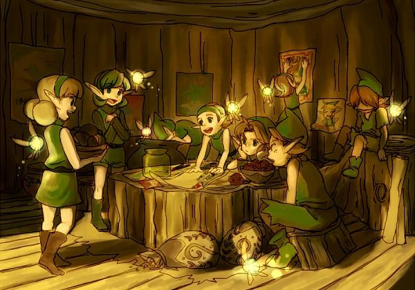 The Kokiri (Zelda no Densetsu) (The Kokiri (ocarina Of Time)) - Zelda no Densetsu
