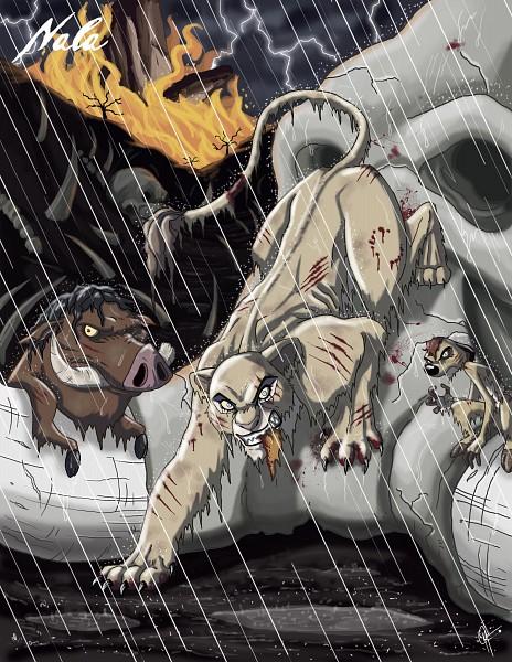 Tags: Anime, Jeftoon01, The Lion King, Pumba, Timon, Nala, Twisted Princess, Disney, deviantART