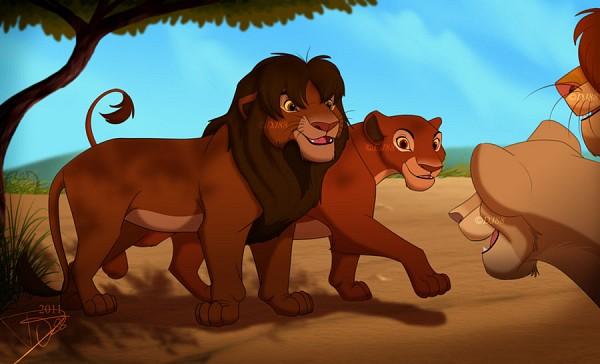 Tags: Anime, Uru, The Lion King, Simba, Nala, Disney