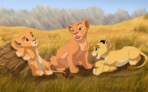 Tags: Anime, The Lion King, Nala, Disney