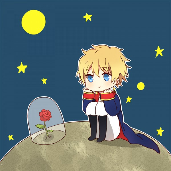 Tags: Anime, Spazzytoaster, The Little Prince, The Little Prince (The Little Prince), Rose (The Little Prince), Principito, Tumblr, PNG Conversion, Fanart