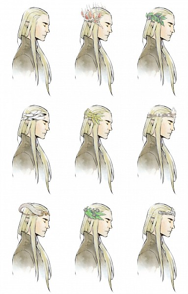 Tags: Anime, Lanimalu, The Lord of the Rings, Thranduil, Fanart, Mobile Wallpaper