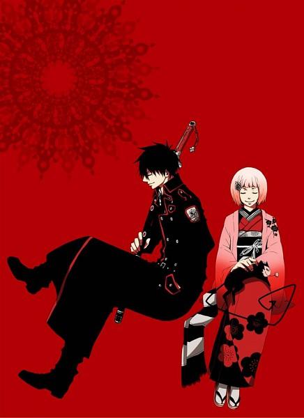 Tags: Anime, Pixiv Id 2330088, Ao no Exorcist, The Miyama-Uguisu Mansion Incident, Miyama-Uguisa Monaka, Night (The Miyama-Uguisu Mansion Incident), Pixiv, Fanart
