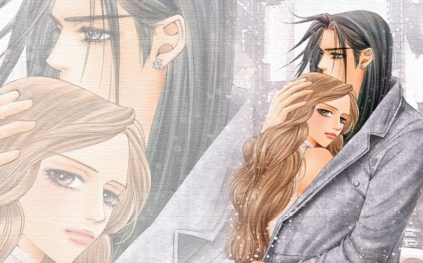 Tags: Anime, Lee Nicky, The One, Eros Lanson, Lele Cane, Official Art, Official Wallpaper