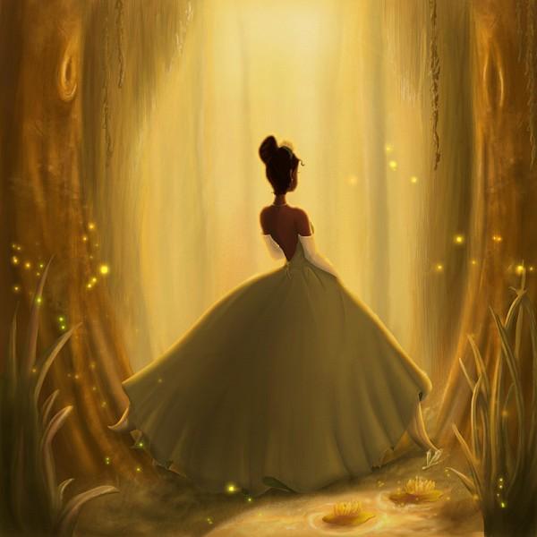 Tags: Anime, Frog Prince, The Princess and the Frog, Tiana (Frog Prince), Fireflies, Disney, Artist Request