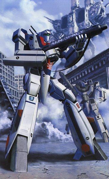 Tags: Anime, Tenjin Hidetaka, The Super Dimension Fortress Macross, Macross 7, Hikaru Ichijou, Maximillian Jenius, Macross Class Sdf-1