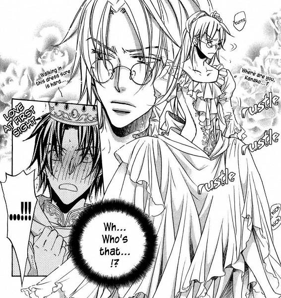 Tags: Anime, Hinako Takanaga, The Tyrant Who Fell in Love, Tatsumi Souichi, Morinaga Tetsuhiro, Official Art, Scan, Manga Page