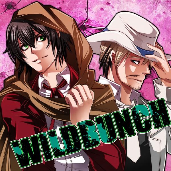 Tags: Anime, Pixiv Id 733902, Drifters (Manga), Sundance Kid, Butch Cassidy, The Wild Bunch, Stubble, Pixiv, Fanart, Fanart From Pixiv