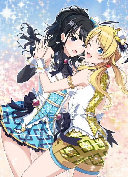Tags: Anime, Pixiv Id 2668693, The iDOLM@STER: Shiny Colors, Hachimiya Meguru, Kazano Hiori