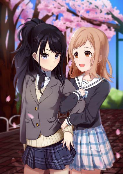 Tags: Anime, Pixiv Id 6623413, The iDOLM@STER: Shiny Colors, Kazano Hiori, Sakuragi Mano