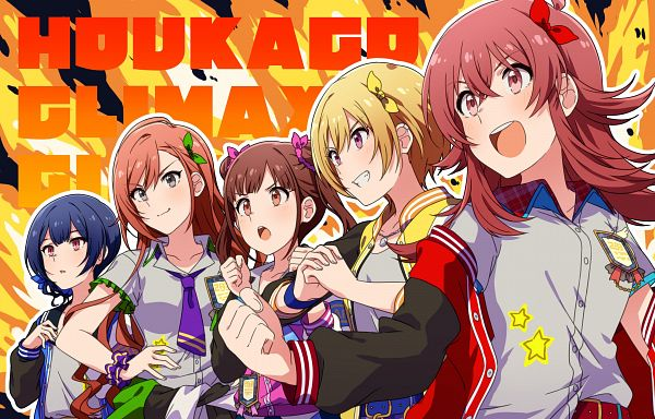 Tags: Anime, Pixiv Id 432902, The iDOLM@STER: Shiny Colors, Arisugawa Natsuha, Morino Rinze, Saijou Juri, Sonoda Chiyoko, Komiya Kaho
