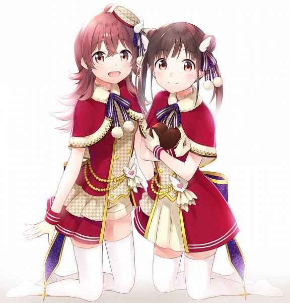Tags: Anime, Pixiv Id 7881330, The iDOLM@STER: Shiny Colors, Sonoda Chiyoko, Komiya Kaho