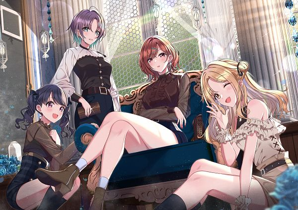 Tags: Anime, Pixiv Id 31068879, The iDOLM@STER: Shiny Colors, Ichikawa Hinana, Higuchi Madoka, Asakura Tooru, Fukumaru Koito, Fanart From Pixiv, Pixiv, Fanart