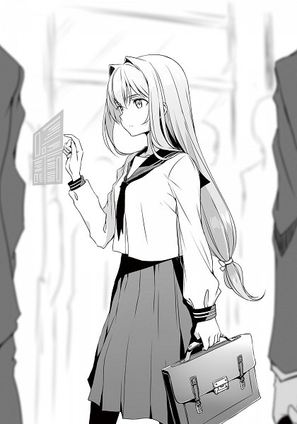 Tags: Anime, Kasuga Ayumu (Artist), Ore Twintail ni Narimasu., Thouars (Ore Twintail ni Narimasu), Official Art, Novel Illustration