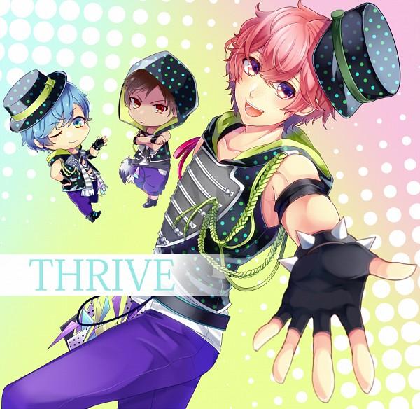 Tags: Anime, Pixiv Id 738073, B-Project, Aizome Kento, Ashuu Yuuta, Kaneshiro Goushi, Text: Character Group Name, Fanart From Pixiv, Pixiv, Fanart, Thrive