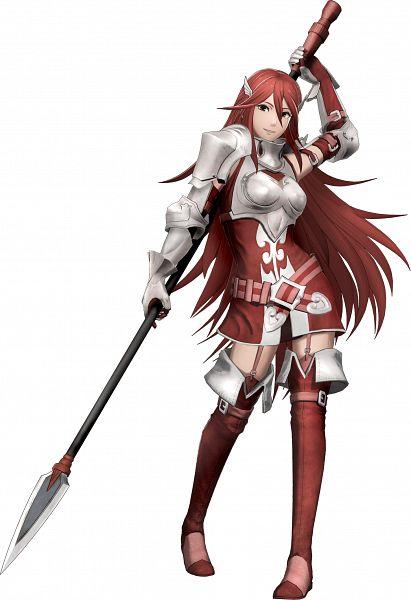 Tags: Anime, ω-Force, Fire Emblem Musou, Tiamo (Fire Emblem), Official Art, Cordelia (fire Emblem)