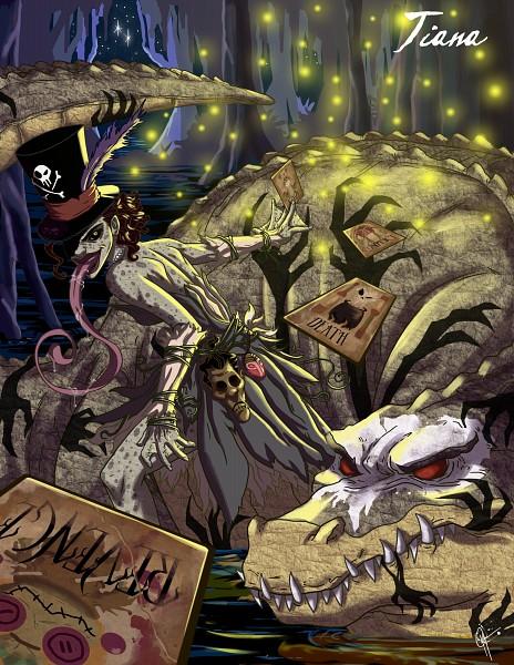 Tags: Anime, Jeftoon01, Frog Prince, The Princess and the Frog, Tiana (Frog Prince), Swamp, Crocodile (Animal), Twisted Princess, Original, Disney