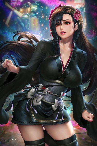 Tags: Anime, NeoArtCorE, Final Fantasy VII Remake, Final Fantasy VII, Tifa Lockhart, Fanart From DeviantART, deviantART, Fanart