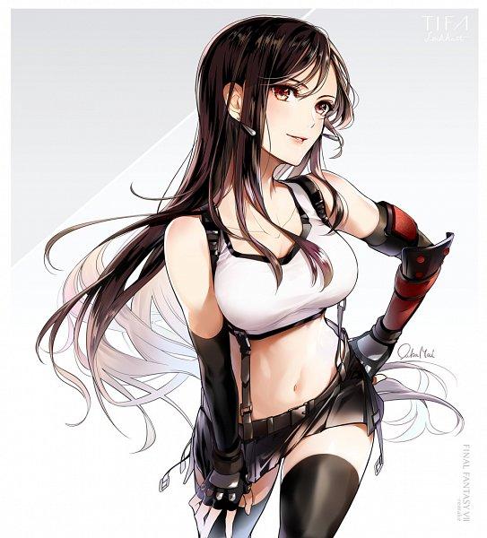 Tags: Anime, Final Fantasy VII, Final Fantasy VII Remake, Tifa Lockhart, Twitter, Artist Request