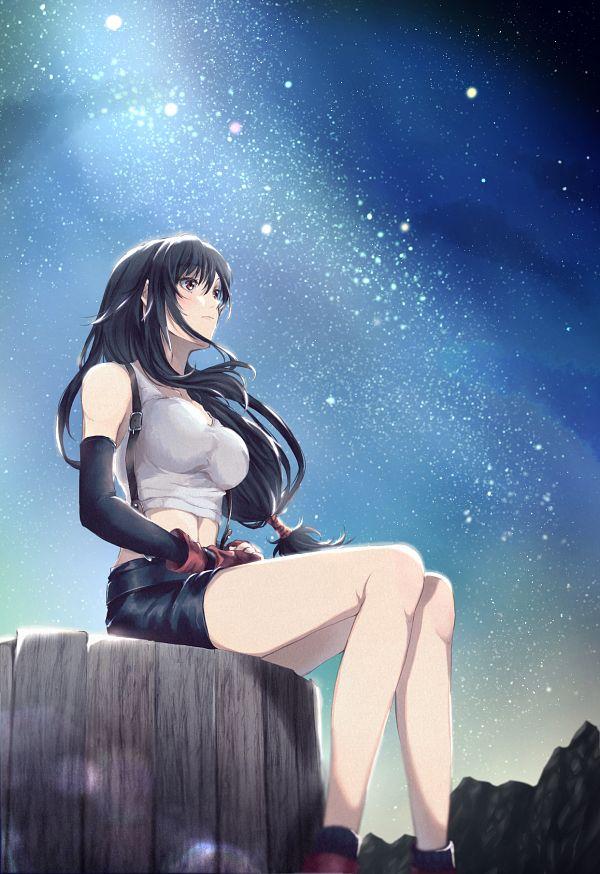 Tags: Anime, Pixiv Id 57820611, Final Fantasy VII, Tifa Lockhart