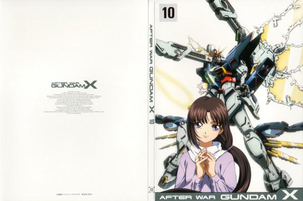 Tags: Anime, Nishimura Nobuyoshi, Kidou Shinseiki Gundam X, Tiffa Adill, Official Art, DVD (Source), Gundams